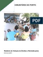 Relatório do Fórum Comunitário do Porto do Rio de Janeiro