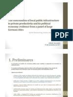 Economía política del transporte (kemmerling y stephan) Jorge Salgado