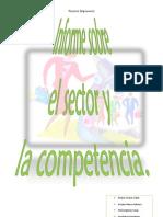 034. Sector y competencia