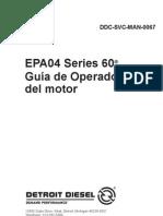 Guia de Operador Del Motor