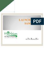 Launching of Samarus