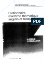 Dictionnaire Maritime que Anglais Francais