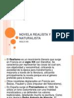 Novela Realista y Naturalist A