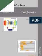 Briefing Paper - Flow Batteries[1]