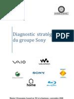 Diagnostic stratégique du groupe Sony