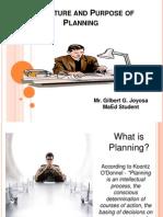 Final Report Talaga Sa Planning