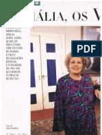 Amália Rodrigues em entrevista à Revista Única - Jornal Expresso - 25 de Outubro de 1997