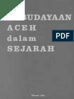 A. Hasymy - Kebudayaan Aceh Dalam Sejarah