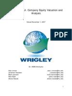 wm wrigley jr company case study