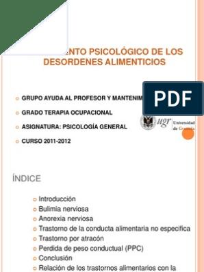 cbt para pérdida de peso pdf