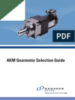 AKM Gearmotor Selection Guide Cten