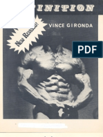 37571158 Vince Gironda Definition