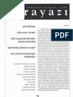 Ahmet Bozkurt, Şiir Tutulması, Karayazı, 2008, sayı 2