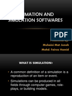 Animation and Simulation Softwares