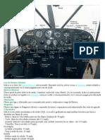 Aero Boero A115 painel e funçoes