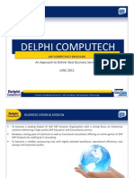 Delphi Computech-SAP Implementation Partner