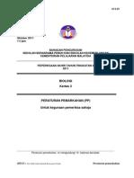 peperiksaan akhir tahun sbp 2011 ting 4  PP BIO3