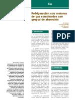 REFRIGERACIÓN CON MOTORES DE GAS Y GRUPOS DE ABSORCIÓN,DOSDIEZ