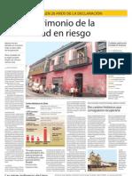 Lima Patrimonio de La Humanidad en Riesgo