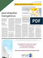 Dilatan reglamento para etiquetar transgénicos