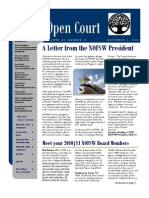 November 2010 Issue of Open Court