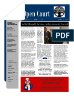 June 2011 Issue of Open Court