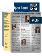 September 2011 Issue of Open Court