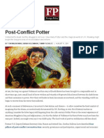 Post Conflict Potter