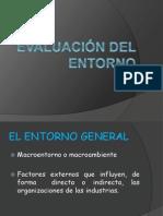 EVALUACIÓN DEL ENTORNO1