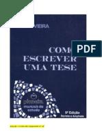 Como Escrever Uma Tese - Sônia Vieira - Corrigida