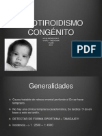 hipotiroidismo congenito JN