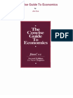 Concise Guide to Economics