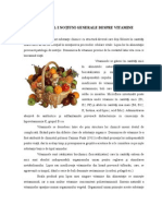 Capitolul i Notiuni Generale Despre Vitamine