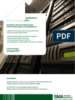Data Center Design & Critical Facilities Courses / Qualification Training Programs