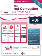 Cloud Forum Asia Brochure