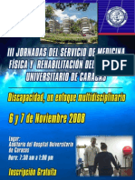 III Jornadas del Servicio de Medicina Física y Rehabilitación del Hospital Universitario de Caracas