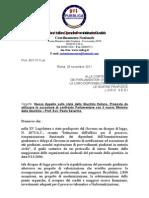 28 11 2011 Nuovo Appello Stato Giustizia Italiana Proposte
