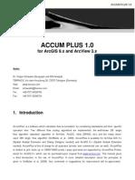 Accumplus Manual
