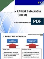 Mekanisma dan Syarat-Syarat Bantuan Rakyat RM500 1Malaysia BR1M