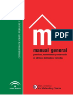 Manual General Para El Uso y Mantenimiento Del Edificio