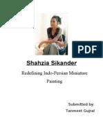 Shahzia Sikander- An Essay