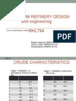 Crude Assay Analysis