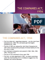 The Companies Act1 , 1956