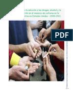 El estigma en la adicción a las drogas, alcohol y la discriminación en el  mosaico de culturas en la comunidad latina en Estados Unidos – 2000-2011