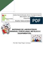 MATERIAS DE LABORATÓRIO (TÓPICOS)