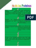 Glosario de Proteinas