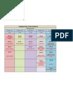 Fall Semester 2011 Common Final Exam Schedule Xlsx Draft Copyr1