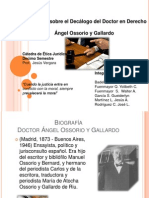 Presentacion de Etica Juridica Decalogo
