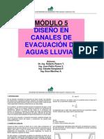 DISEÑO DE CANALES DE EVACUACION DE AGUAS LLUVIA