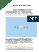 Guía de instalación de Mandriva 2011